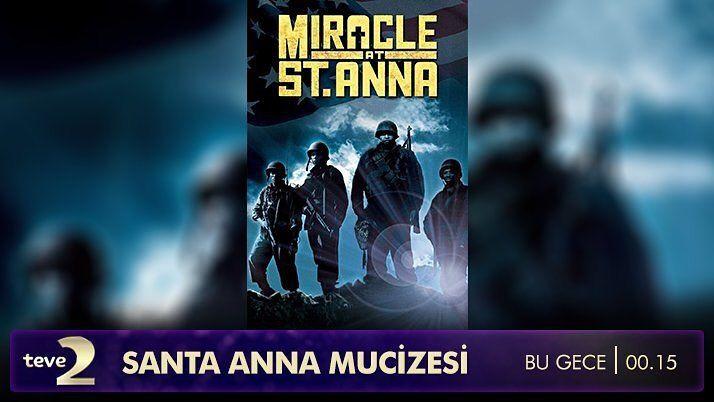 @teve2 de bu gece ekrana gelecek St.Anna Mucizesi 4 Amerikan askerin 1 İtalyan çocuğu kurtarmak için verdiği mücadeleyi anlatır. Bölüklerindeki askerlerden ayrılıp hayatlarını tehlikeye atma pahasına çocuk için İtalyanın Toskana da kalırlar. Her türlü ırk ve sınıf ayrımının gözetilmediği bir dostluk hikayesi... Uykusu kaçana bu gecenin tavsiyesi. #film #st #anna #mucizesi #miracle #at #st #anna #movie #teve2 #cinema #sinema
