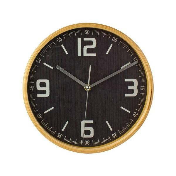 Kerridge Wood Surround Wall Clock (22cm) | Koop.co.nz