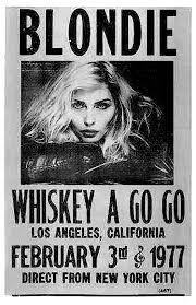 Image result for blondie concert poster
