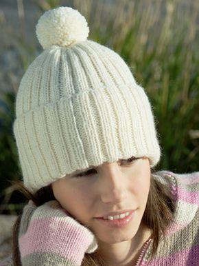 Neulottu ribbipipo Novita 7 Veljestä   Novita knits