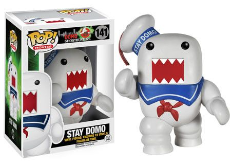 We aren't done celebrating Ghostbusters 30th anniversary just yet! Today we bring you ever more Ghosbusters Pop! items to celebrate! Who you gonna call?! ...Domo?!That's right! We did it! All of your favorite Ghostbusters characters are coming to you with a Domo twist! Available in February!