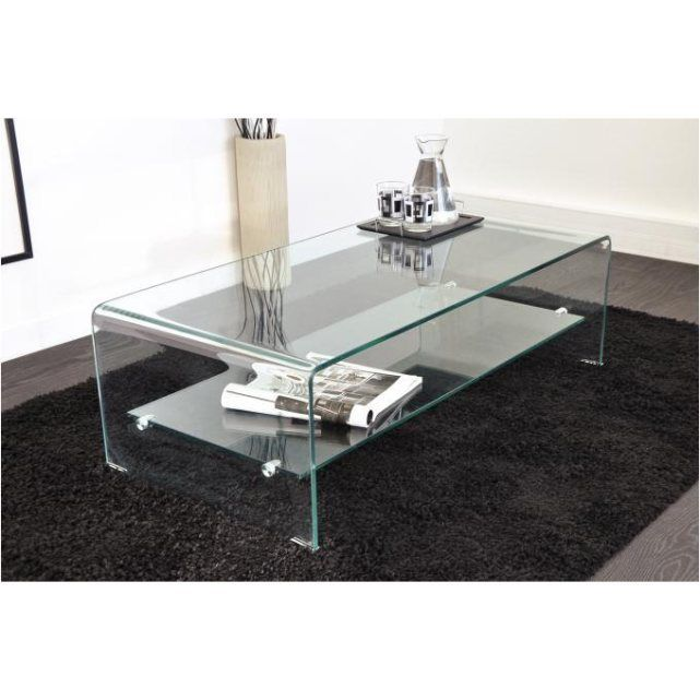 Table basse en verre transparent otta Declikdeco | La Redoute