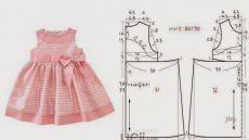 patrones de vestidos para niñas de 1 año: 21 mil imágenes que se encuentran en Yandeks.Kartinki