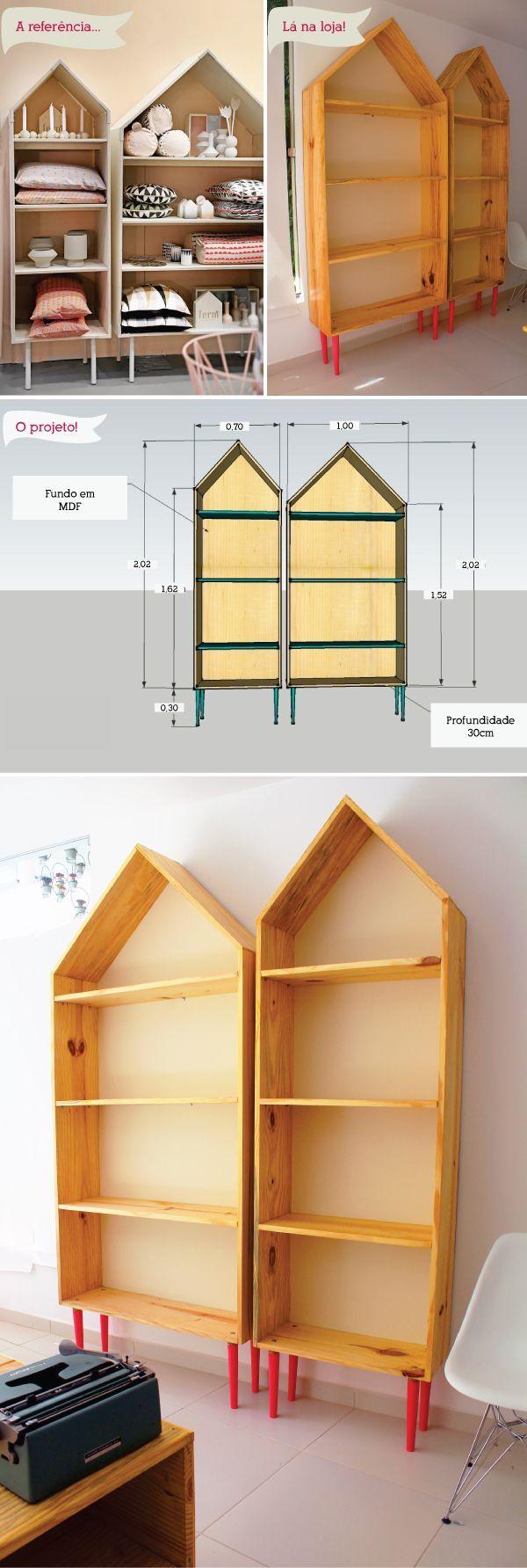 O andamento da lojinha e os projetos dos móveis: