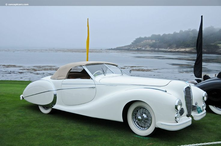 1949 Delahaye 135M at the Pebble Beach Concours d'Elegance ════════════════════════════ http://www.alittlemarket.com/boutique/gaby_feerie-132444.html ☞ Gαвy-Féerιe ѕυr ALιттleMαrĸeт   https://www.etsy.com/shop/frenchjewelryvintage?ref=l2-shopheader-name ☞ FrenchJewelryVintage on Etsy http://gabyfeeriefr.tumblr.com/archive ☞ Bijoux / Jewelry sur Tumblr