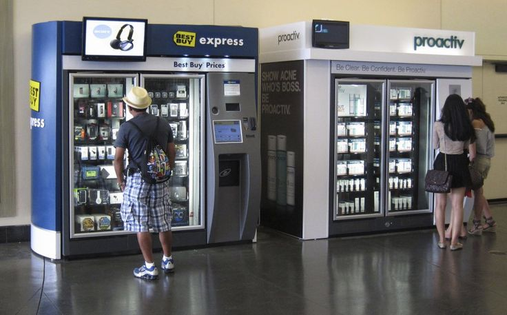 Who knows when the desire to get clearer skin will strike? If you're in Hollywood, California, when it does though, you're set with this Proactive acne treatment vending machine.