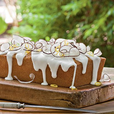 Lemon Coconut Pound Cake This pound cake recipe starts from scratch and is as good as it looks. Pair it with a sparkling wine, like a Pro...