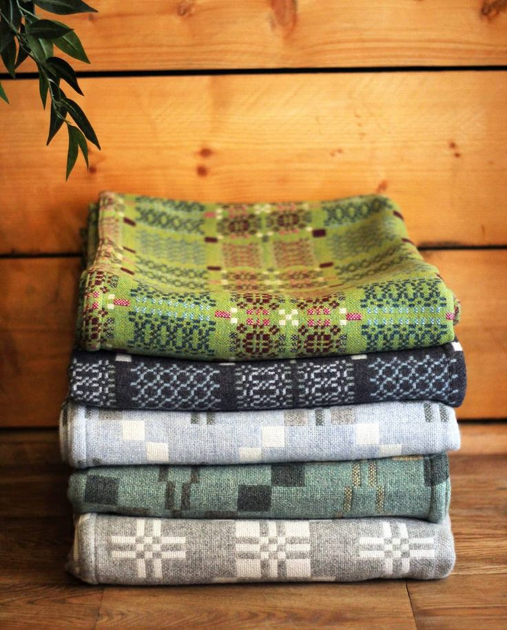 Bring a little happiness to your home, with our stunning range of Melin Tregwynt throws.  Made from lamb's wool that gives them that extra touch #shoplocalwales #shoploacal #melintregwynt #delivery #newin #vintagestar #knotgarden #stdavidsstar #welshthrow#welshblanket #madeinwales #handmade #traditional #homeware #lambswool #100wool #wool #Pembrokeshire #Swansea #Wales #Welsh #Walesshopping #green #blue #mint #doublebed #largethrow #melintregwyntthrow #throw #blanket