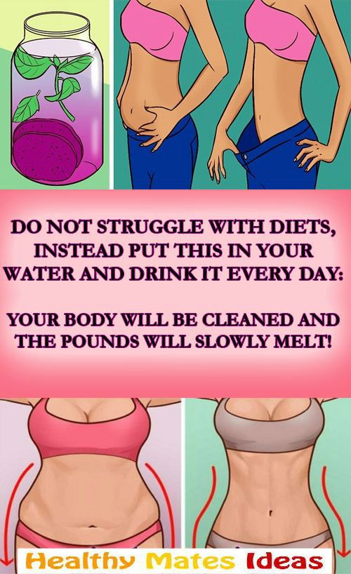 DO NOT STRUGGLE WITH DIETS, INSTEAD PUT THIS IN YOUR WATER AND DRINK IT EVERY DAY: YOUR BODY WILL BE CLEANED AND THE POUNDS WILL SLOWLY MELT!