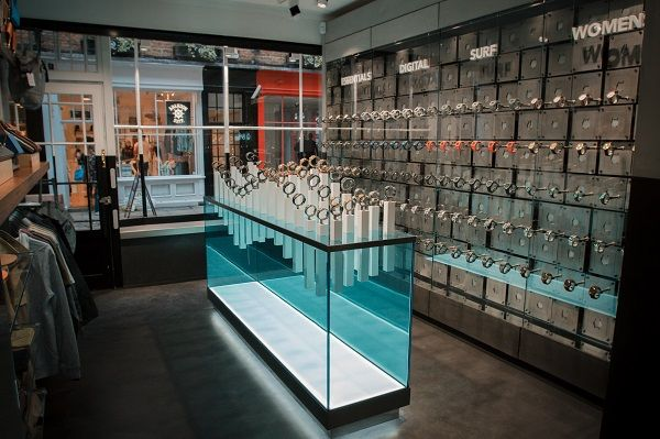 Design showcase: first UK store for watch brand Nixon - Retail Design World