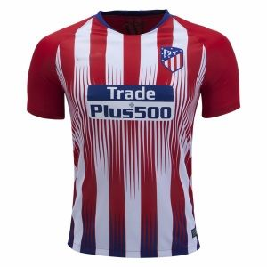 15085779699 2018-19 Cheap Authentic Jersey Atletico Madrid Home Replica Red Shirt   CFC660
