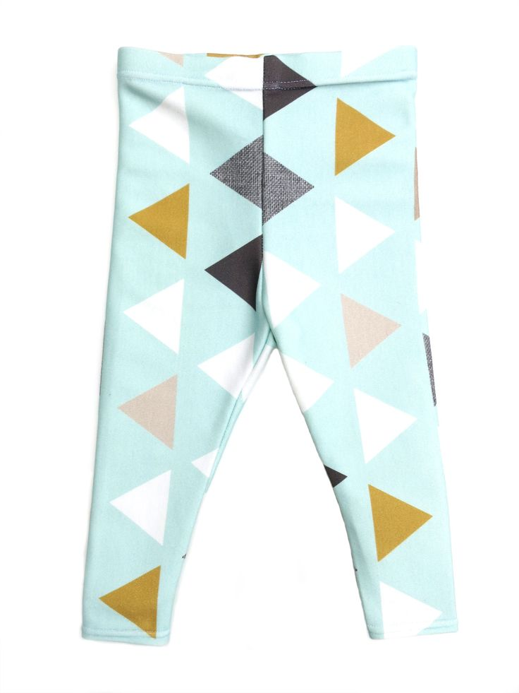 Fall 2014 Collection: A Modern Triangle Leggings for your baby or toddler from www.brikhouse.com