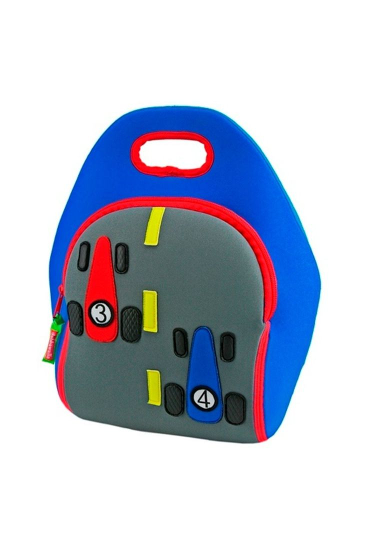 Little race car drivers on-the-go will be zooming along in this whimsically simple kids' lunch bag. Made with an insulated, sustainable material and 100% toxic-free, the Race Car lunch bag makes carrying lunch for little ones as safe as it is fun.   Fast Track Car Lunch Bag by The Island Shop. Home & Gifts - Gifts - Gifts by Occasion - Baby & Kids Florida