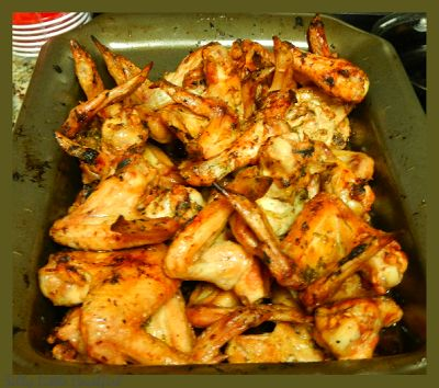 Paleo Chicken with Garlic, Basil, and Parsley