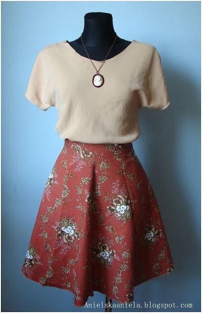 DIY TUTORIAL easy sewing blouse, jak uszyć bluzkę krok po kroku diy plus jak zrobić wykrój bluzki