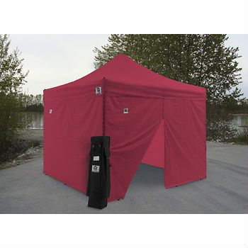 Impact Canopy 10' x 10' AOL Instant Canopy Kit - Red