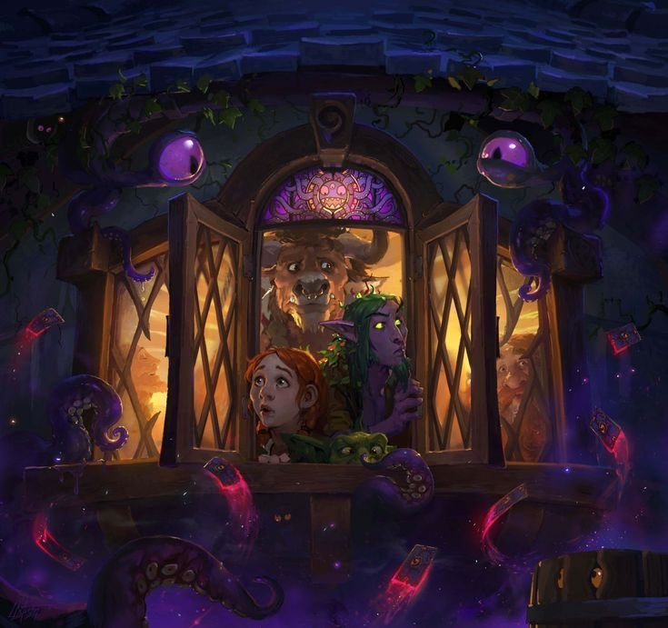 Whispers of the Old Gods card (3rd Hearthstone expansion): http://hearthstonehungary.hu/node/whispers-of-the-old-gods-informaciok