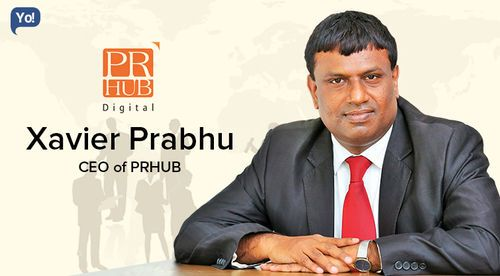 Read Xavier Prabhu's Business Journey, CEO of PRHUB: Interview with Yo! Success