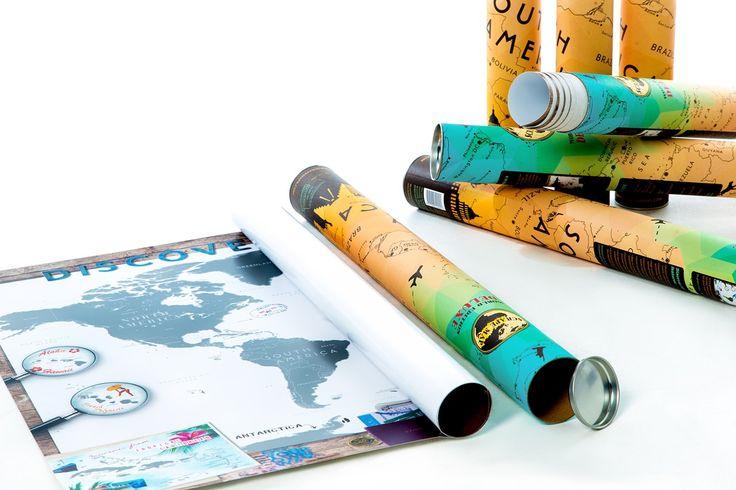 Scrape Map World Edition Deluxe - Gadgets bij Mijn Producten