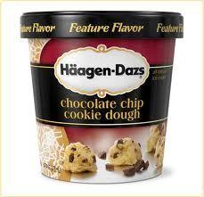 hagen daz ice cream -  never seen this...