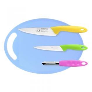 Scanpart Zestaw noży Fun2Cook http://www.redcoon.pl/B399405-Scanpart-Zestaw-no%C5%BCy-Fun2Cook_Akcesoria-kuchenne