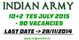 Indian Army Recruitment for 60 Civil, Mechanical, Electrical/Electrical, Electronics, Automobile /Workshop, Chemical Engg and Other Engineering Graduate Vacancies. Indian Army has been released a notification for 60 job vacancies in Dehradun, Uttarakhand. Interested and eligible candidates can apply from 1st December 2014 10:00 AM to 31st December 2014 by 5:00 PM. Please read the below provided information carefully before applying for this job.