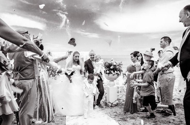 Beach wedding in Italy www.jhalesfotografia.com