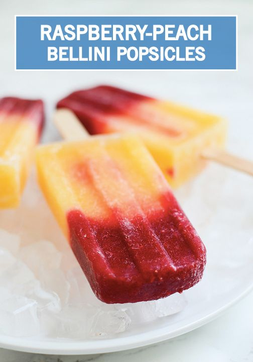 Ginger Peach Popsicles Recipe — Dishmaps