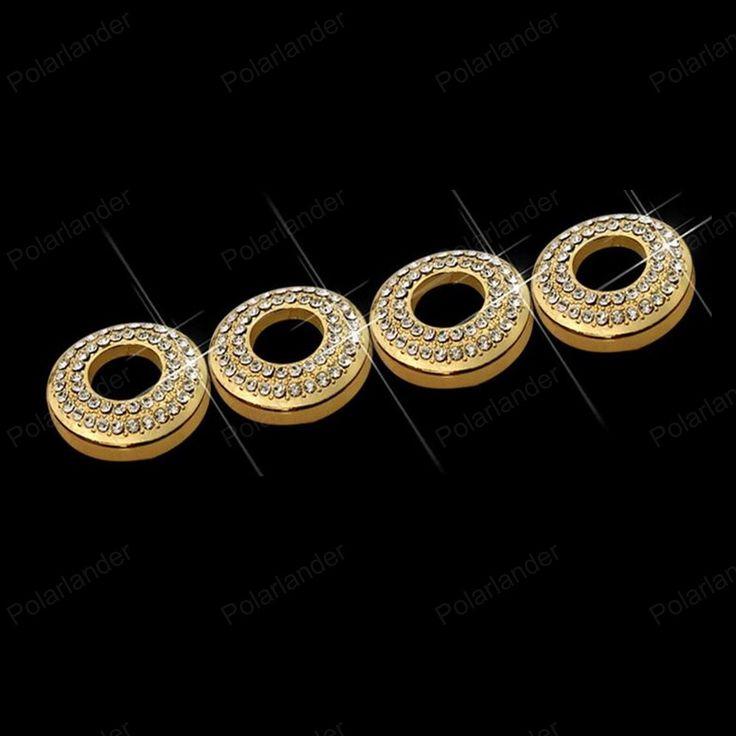 door bolt lock pin Car styling for M/recedes B/enz E-class new C-class GLC GLA GLK trim ring 4 pcs door switch button sticker  #Affiliate