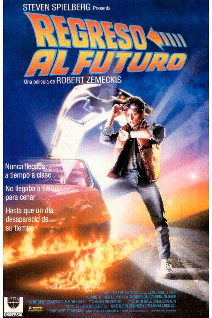 Regreso al futuro (1985) EEUU. Dir.: Robert Zemeckis. Ciencia ficción. Comedia. Aventuras. Adolescencia. Anos 50 (EEUU) – DVD CINE 1622