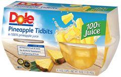 Porque mereces lo mejor, aliméntate con el Pack de Potes de Piña al Jugo Dole. Dale lo mejor a tu familia, conservando lo más rico de esta fruta con el mejor jugo de fruta natural.