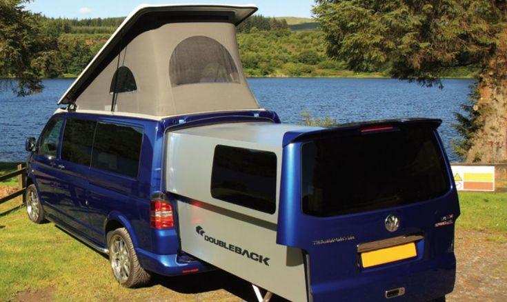 DoubleBack adds a sliding pod to VW's Transporter van