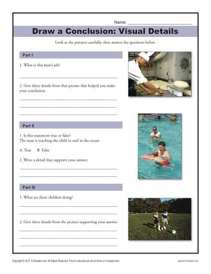 Worksheets Drawing Conclusions Worksheets 5th Grade 1000 ideas about drawing conclusions on pinterest inference free printable worksheet activity for middle school bookmarking these