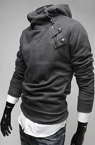 Zip Hoodie Top for Men Fashion: