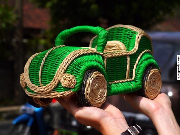 VW beetle basket