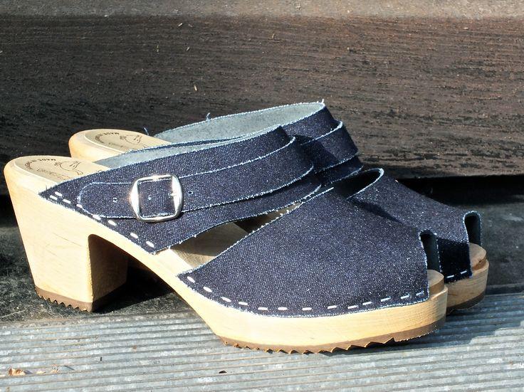 slip-in jeans alike Skåne Toffeln clogs