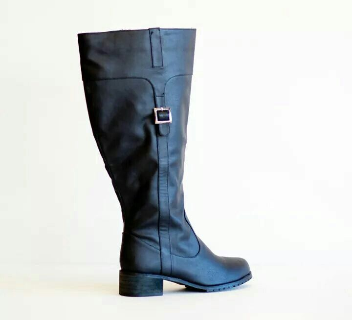 Wide Calf Riding Boots - Plus Size - Curvy Fashion - Bold - Unique - Renegade
