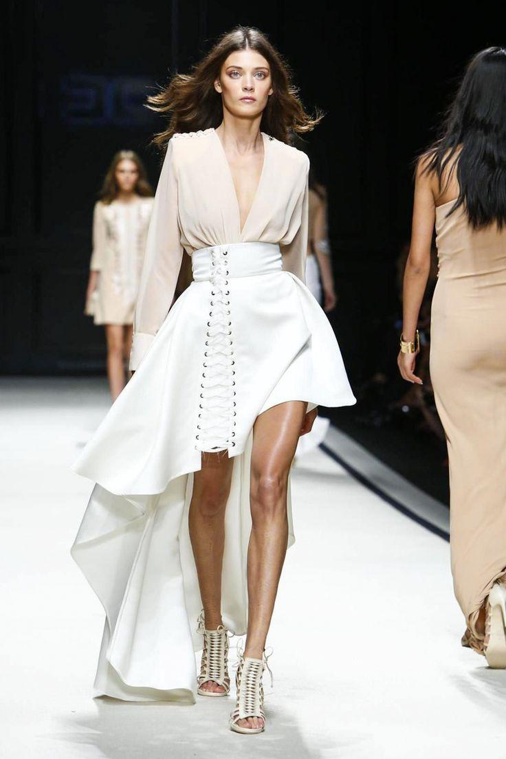 Elisabetta Franchi Ready To Wear Spring Summer 2016 Milan - NOWFASHION