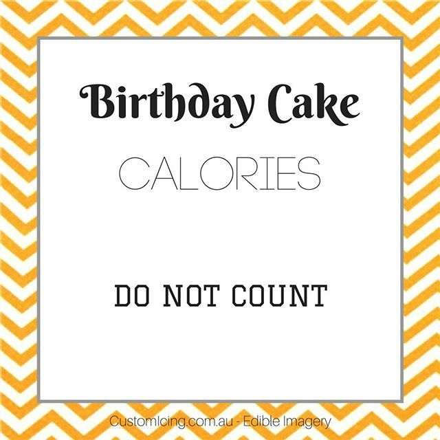 ...well actually, calories consumed on your own birthday never count...or is it calories in anyone's birthday cake don't count?⠀⠀⠀⠀⠀⠀⠀⠀⠀ Either way, just eat the cake. ⠀⠀⠀⠀⠀⠀⠀⠀⠀ ⠀⠀⠀⠀⠀⠀⠀⠀⠀ ⠀⠀⠀⠀⠀⠀⠀⠀⠀ #cake #birthdaycake #cakedecoration #cakeideas #ediblephoto #photocake #edibleimagecake #edibleprint #customicing #edibleimage #birthdaycakeideas…