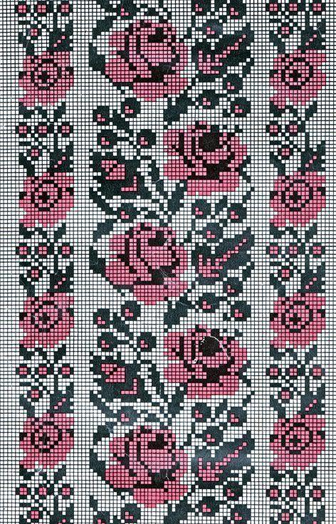 Вышивка крестом ... подборка цветочно-орнаментальная (34схемы + доп материал). Обсуждение на LiveInternet - Российский Сервис Онлайн-Дневников