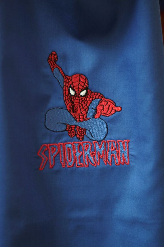 Spider Man Spiderman 2 Pc Mask and Cape Set - Superhero Cape Jumping Spiderman Super HERO Cape Spider Man - Any color Available