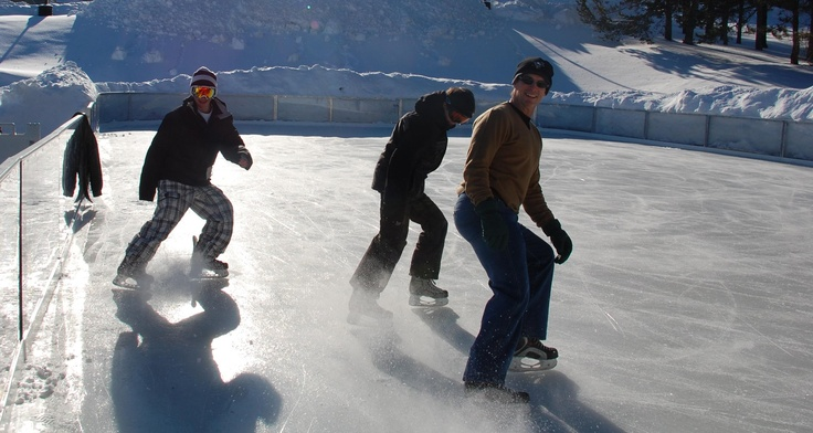 Whether you're an Ice Skater, Hockey Player or just a casual skater, the outdoor Ice Rink at Wisp Resort is sure to be the place for you!