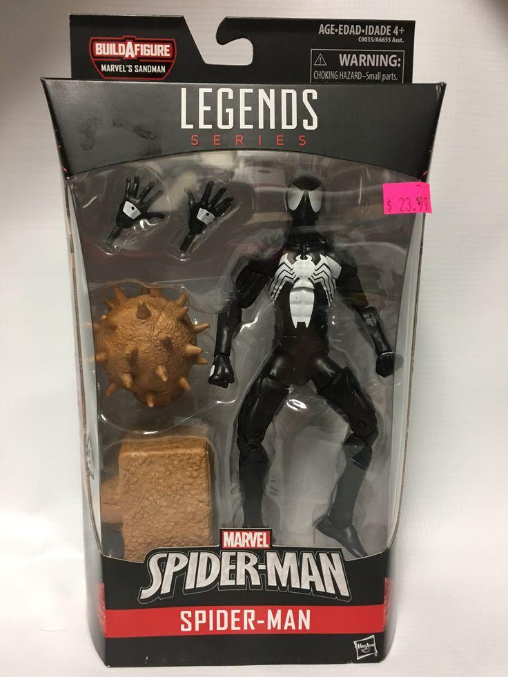 Marvel Legends Spiderman Black Spider-man