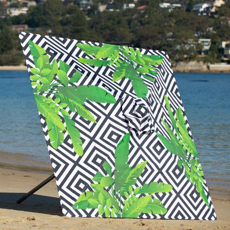 2m Duchess & Deco Shade Umbrella in Jungle Junction design.