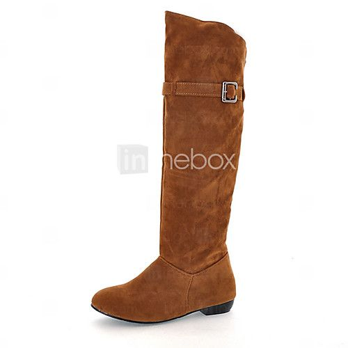 Women's Boots Spring / Fall / Winter Fashion Boots Leatherette Outdoor / Casual Chunky Heel BuckleBlack / Brown - USD $25.19 ! HOT Product! A hot product at an incredible low price is now on sale! Come check it out along with other items like this. Get great discounts, earn Rewards and much more each time you shop with us!