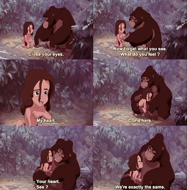 One of my favorite Disney movies!  Tarzan ❤