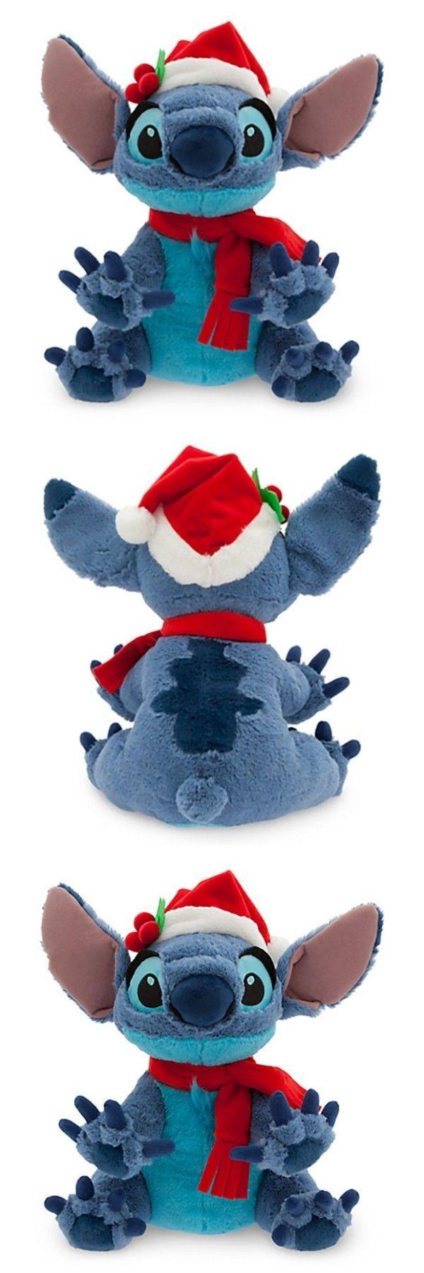 Lilo and Stitch 44035: Disney Store Santa Stitch Medium Stuffed Animal Alien Doll Kids Toy Lilo Hawaii -> BUY IT NOW ONLY: $30.64 on eBay!