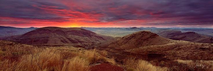Pilbara Sunset photo by Mark Gray