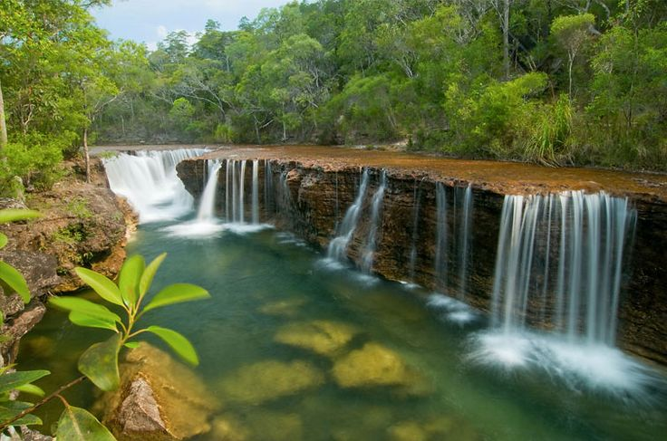 Elliot Falls, Cape York Peninsula, Queensland, Australia