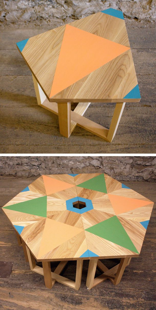 Geometric tables